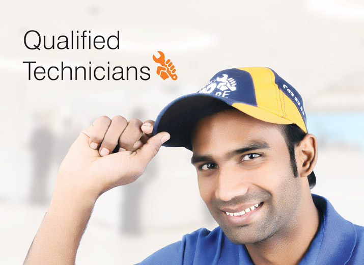 Qualified Technicians - Osmo Ro Care