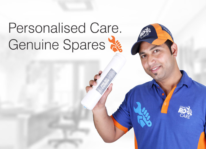 Personalised Care. Genuine Spares - Osmo Ro Care