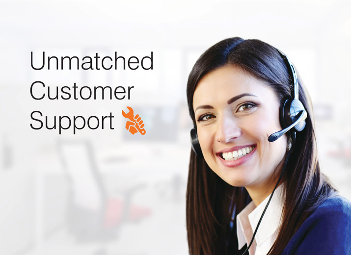 Unmatched Customer Support - Osmo Ro Care